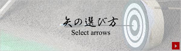 矢の選び方